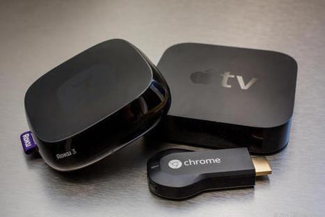 Chromecast vs. Apple TV vs. Roku 3: Which media streamer should you buy? | toadonline | Scoop.it