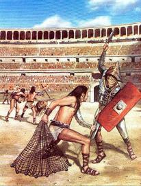Tipos de Gladiadores y armas   Arte Antiguo Romano   Scoop.it
