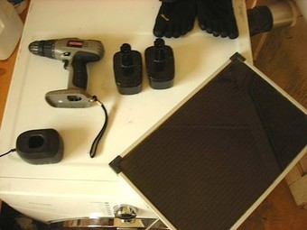 Turn a cordless drill into a solar drill in just a couple easy steps | Sustainable building | Scoop.it