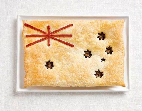 Le bandiere fatte con il cibo - La Repubblica | Food&c. | Scoop.it