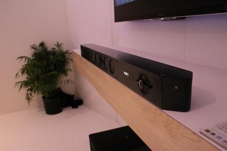 Sony's new sound bars go multi-room, hi-res to upgrade your living room | Best soundbar reviews | Scoop.it