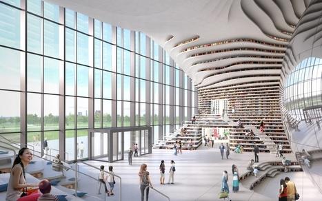 Gros plan sur la bibliothèque du XXIe siècle - Avenues | Bibliothèque et Techno | Scoop.it