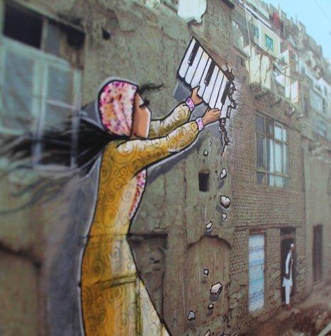 La première grapheuse afghane répand le féminisme sur les murs | A Voice of Our Own | Scoop.it