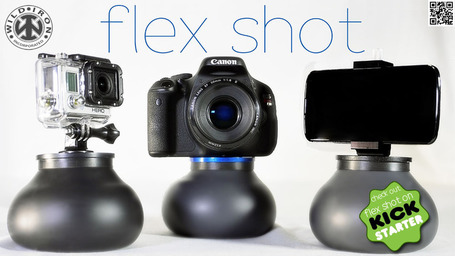 FLEX Shot moldable photography and video stabilizer mount | DSLR Video Studio Handbook™ | DSLR video and Photography | Scoop.it