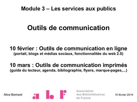 Outils de communication en ligne en bibliothèqu... | Web2Bibliothèques | Scoop.it