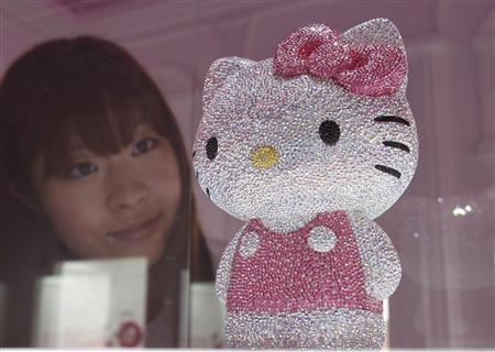 Hello Kitty goes crystal for Japan disaster relief | Cute & Useless | Scoop.it