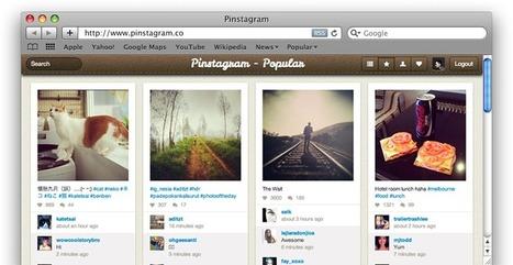 Pinstagram: Voir les photos Instagram à la Pinterest | E-marketeur dans tous ses états | Scoop.it