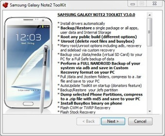Have All-In-One Toolkit On Your T-Mobile Samsung Galaxy Note II SGH-T889 | AndroidTuition | Scoop.it