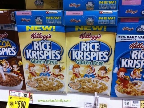 Kellogg's® Rice Krispies® Gluten Free cereal | senza glutine | Scoop.it
