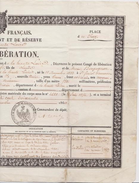 #ChallengeAZ : Q comme Qu'est devenu Claude Samuel en juillet 1859 ? | GenealoNet | Scoop.it