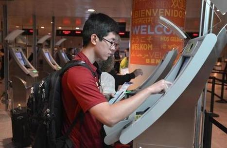 Logan's new kiosks lessen customs wait - Boston Globe | Airport Technology, Trends & News | Scoop.it