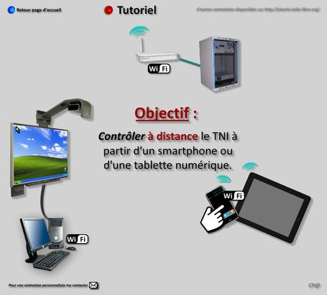 Piloter un TNI à partir d'un smartphone ou d'une tablette [Tutoriel] | What tool to use for your final project in ESL classes. | Scoop.it