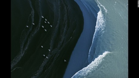 Abstract art ... or Iceland's coast? - CNN.com | CLOVER ENTERPRISES ''THE ENTERTAINMENT OF CHOICE'' | Scoop.it