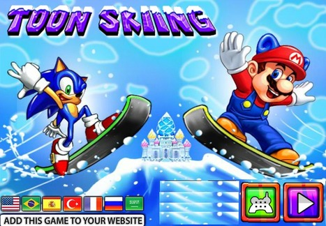 Toon Skiing - Play Best Sonic Games | Transformers Games | Sonic Games | Power Rangers Games | Scoop.it