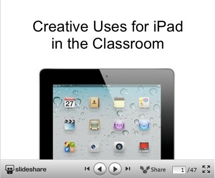 Creative Uses of iPad in The Classroom ~ Educational Technology and Mobile Learning | mobile learning BYOD | Scoop.it