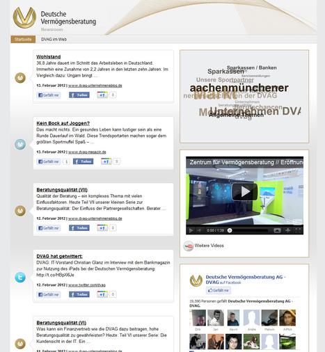 DVAG Deutsche Vermögensberatung | Newsroom | Social Media Newsrooms | Scoop.it