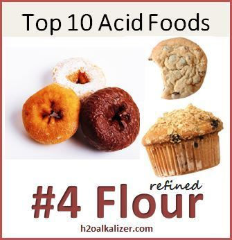 Top Ten Acid Foods: #4 Refined Flour--Good carbs vs. bad carbs. | Nutrition Dos and Don'ts | Scoop.it