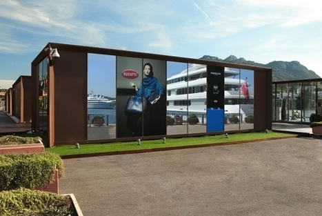 Bugatti avait ouvert un pop-up store estival à Porto Cervo cet été | streetmarketing | Scoop.it