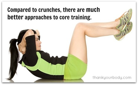 10 reasons why you should NOT do crunches. | Personal Training | Scoop.it
