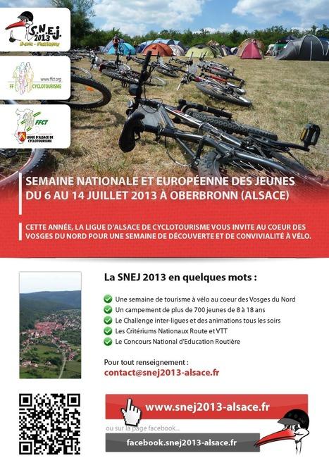 Affiche de la SNEJ 2013   RoBot cyclotourisme   Scoop.it