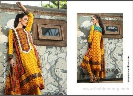 Firdous Paris Linen Dresses 2014-2015 In Stores | Fashion Blog | Scoop.it