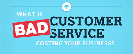The True Cost Of Bad Customer Service [Infographic] — socialmouths | Found Infographics | Scoop.it