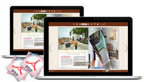 Page Turning PDF Maker, Rotate Original PDF Magazine or catalog into dynamic page turning publication.   Page Turning PDF Maker - Flip PDF Professional to Create Digital Publication   Scoop.it