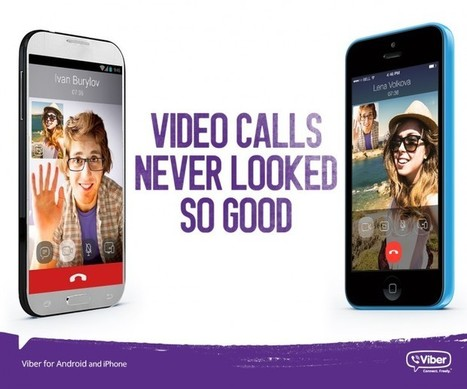 Viber Adds Video Calling to its Mobile Apps | Appetizrr | Scoop.it