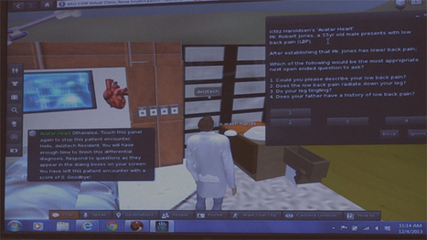Virtual worlds better patient care | 3D Virtual-Real Worlds: Ed Tech | Scoop.it