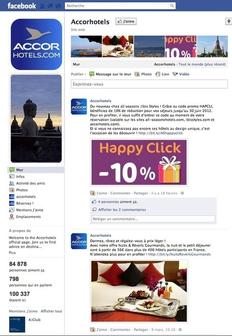 La stratégie digitale d'ACCOR HOTELS | Stratégies Digitales - Digital Insights | Scoop.it