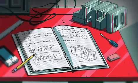 The Hacker's Notebook: a Mission Log for Every Project | Bazaar | Scoop.it