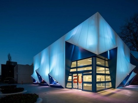 Un bâtiment en bioplastique imprimé en 3D pour la présidence de l'UE   Vertuoze   Scoop.it