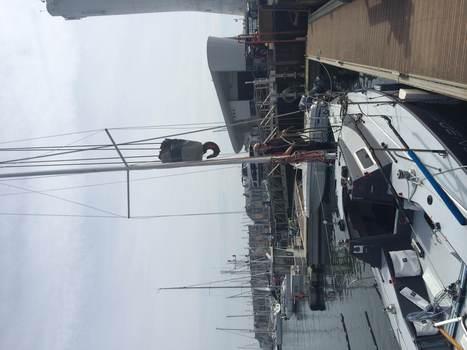 Le Sailing Team Epsilon 3D attend son nouveau mât | Fan-Fan 8, un proto IRC Viant - renaissance, régates, techniques | Scoop.it