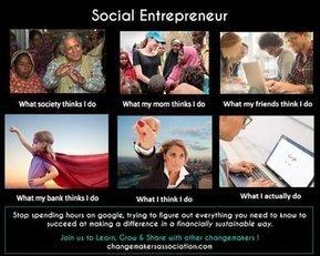 Social Entrepreneur | What I really do | Scoop.it