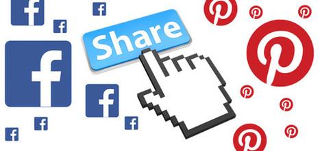 Report: Facebook Still Dominates Social Sharing, But Pinterest Is Now Tops For E-commerce | social media e-commerce | Scoop.it