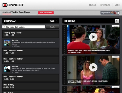HbbTV Connect - A first screen adaption of a second screen app | screen seriality | Scoop.it