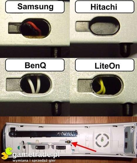 Rozpoznawanie Płyt Głownych Xbox360 oraz napędów , Jakiego xboxa wybrać., Xbox 360   Płyty Główne i Karty Graficzne   Scoop.it