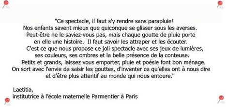 Les Contes du Parapluie - Spectacle pour enfants écrit, conté et mis en scène par Monika Dudzik | Infotheatre à Paris | Scoop.it
