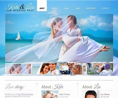 8 best HTML Responsive Wedding Templates | CrunchyFeed | Technology | Scoop.it