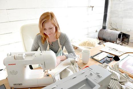 Ellendale woman starts her own handmade textile company - Albert Lea Tribune | french american | Scoop.it