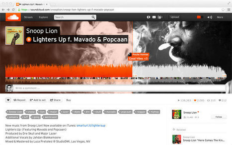 SoundCloud Introduces 'Moving Sounds' Slideshow Creator - SocialTimes | Digital-News on Scoop.it today | Scoop.it