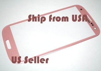 Pink Outer LCD Screen Lens Glass for Samsung Galaxy S III S3 i9300 | iteckparts hot gadgets | Scoop.it
