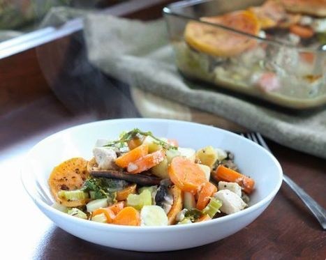 Chicken and Root Vegetable Casserole | Clean Eats | Scoop.it