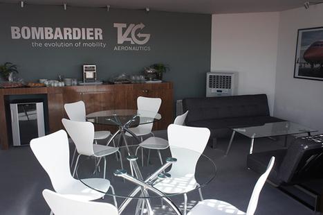 """Galis crée l'espace d'accueil pour Tag et Bombardier   Leads """" Les Agences Design & Stand""""   Scoop.it"""