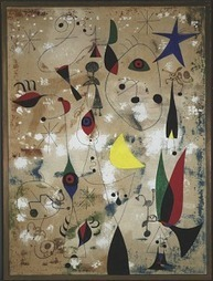 Caring for Art: Miró's Painting (Birds, Personages, and Blue Star ... | Ancient Greece and Rome | Scoop.it