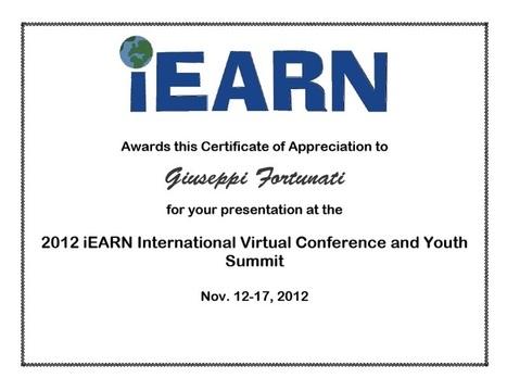 Global education multivideo conferenza dal 12 al 16 novembre 2012 | iEARN in Action | Scoop.it