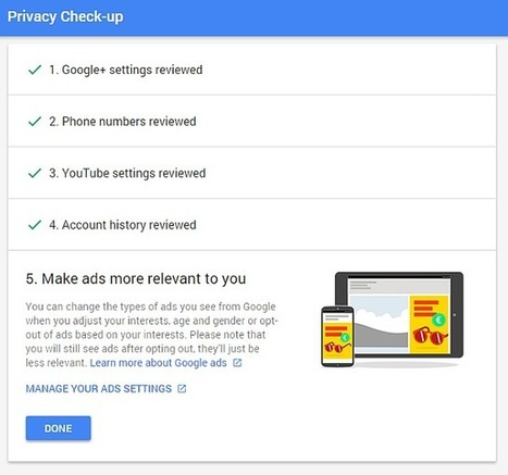 What Does Google Know About You? Find Out and Manage Your Privacy and Security | Geek Gurl Grinds | Scoop.it