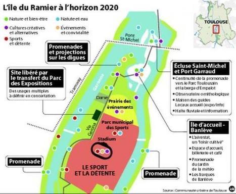 Au Ramier, le futur «Central Park» toulousain | Le Toulouse du futur se construit aujourd'hui | Scoop.it