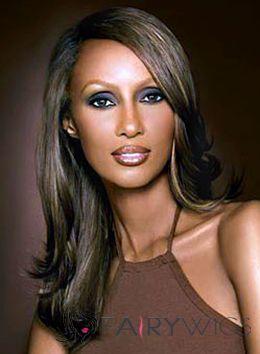 Fancy Medium Wavy Gray African American Lace Front Wigs for Women : fairywigs.com | African American Wigs | Scoop.it