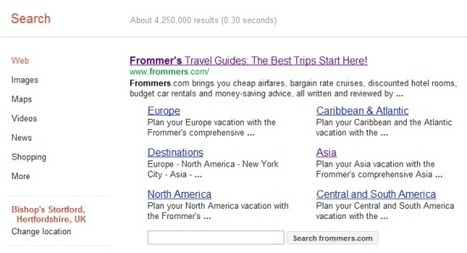 Did Google buy Frommer's for its search engine juice? No, there is a lot more going on | Tnooz | Travel & Tourism Marketing | Scoop.it